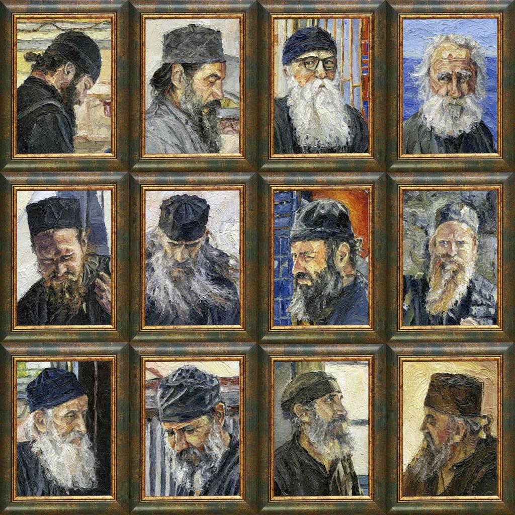 Αγιορείτες Μοναχοί