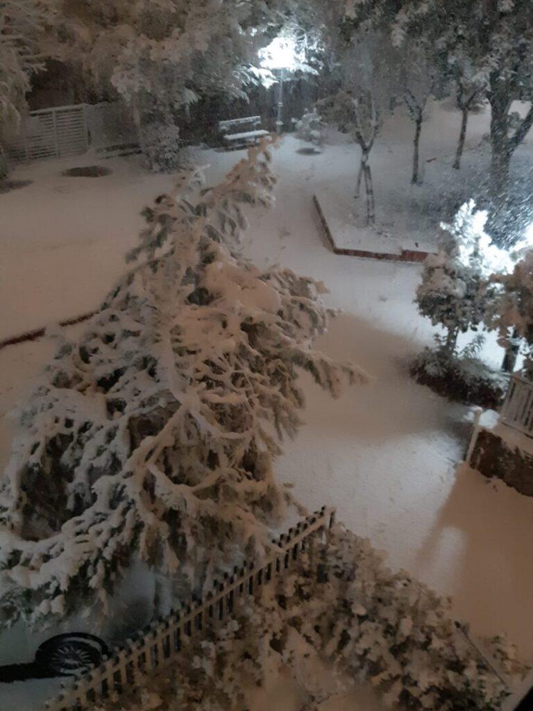 μαρουσι χιονια