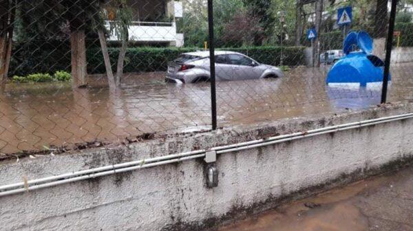 Μαρούσι πλημμυρα μπαλος κακοκαιρια